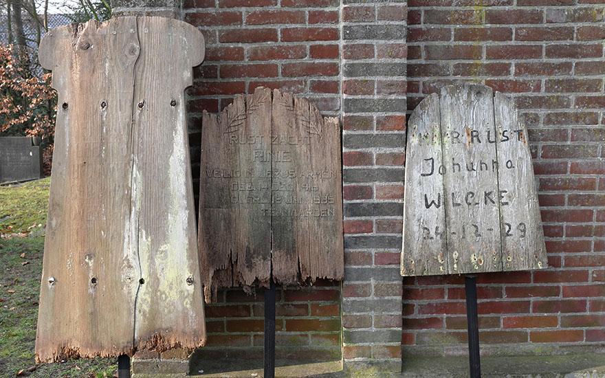 Restauratie houten steles